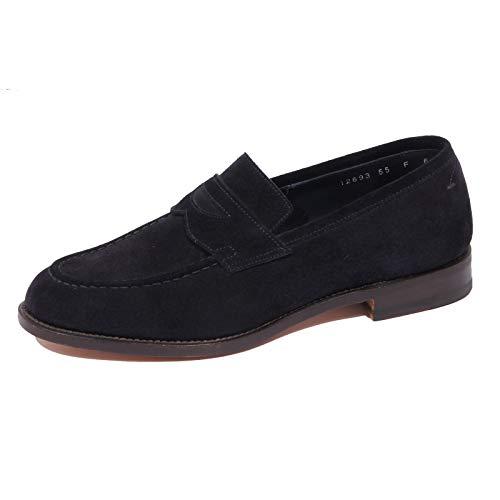 Santoni 1004J Mocassino Uomo Dark Blue Scarpe Loafer Shoe Man [6]