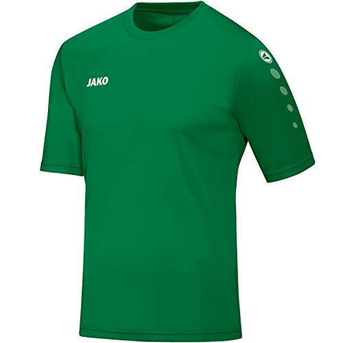 JAKO Herren Fußballtrikots Trikot Team KA, sportgrün, 3XL, 4233