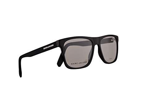 Marc Jacobs Marc 360 Brille 54-17-150 Schwarz/Weiß mit Demo transparenten Gläsern und Gummibügeln 80S Marc360