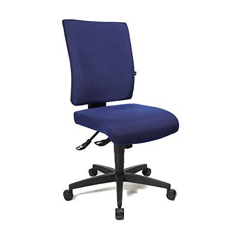 Bürodrehstuhl   Höhenverstellbare Rückenlehne   Royalblau   Topstar