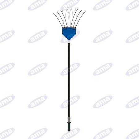 Vareador eléctrico telescópico 220-340 cm Olivama 12 V cable 12 m