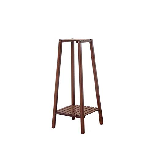 CXQ Type de plancher de support de fleur de balcon de salon minimaliste moderne à deux couches de support de fleur trapézoïdale