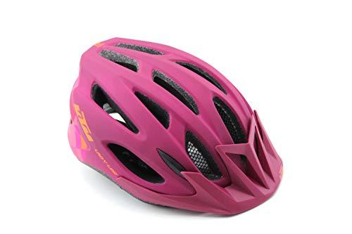 KTM Helm Damenhelm Fahrradhelm Berry/orange matt Lady Line