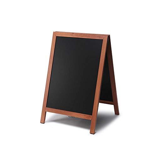 UNIPOS® Pizarra de Caballete Económica (marrón claro) 55x85