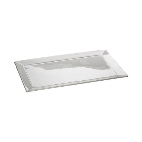 Maxwell & Williams AA1542 Square Platte, Servierplatte, eckig, mit Rand, 45 x 28 cm, in Geschenkbox, Porzellan
