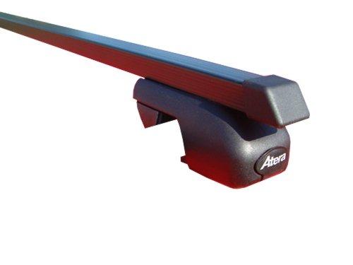 Atera 43137 Dachträger Relingträger Signo ASR Stahl für Autos mit offener Dachreling, Länge 137 cm