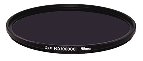 ICE 58mm ND100000 Optical Glass Filter Neutral Density 16.5 Stop ND 100000 58