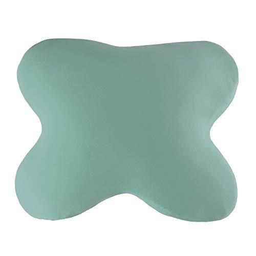 Edda Lux Tempur Ombracio - Funda para almohada para dormir | en muchos colores | 60 x 50 cm | Funda de almohada de punto con cremallera | 100% algodón | Color Laguna