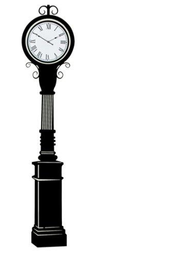 Wenko Wand-Dekor, Folie: Kunststoff Zeiger: Alu, Schwarz