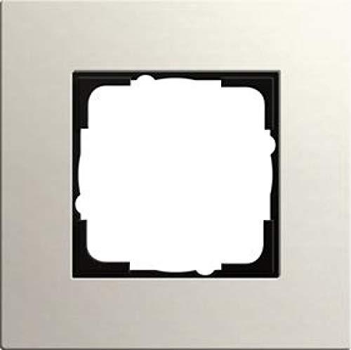 Gira 0211220 Abdeckrahmen Esprit Linoleum-Multiplex 1-Fach, hellgrau, Grau
