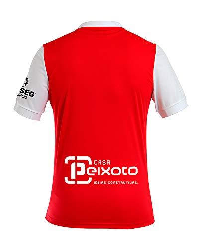 1ª equipación SC Braga Adulto - Temporada 2017-2018 - Camiseta oficial - Talla S: Amazon.es: Deportes y aire libre