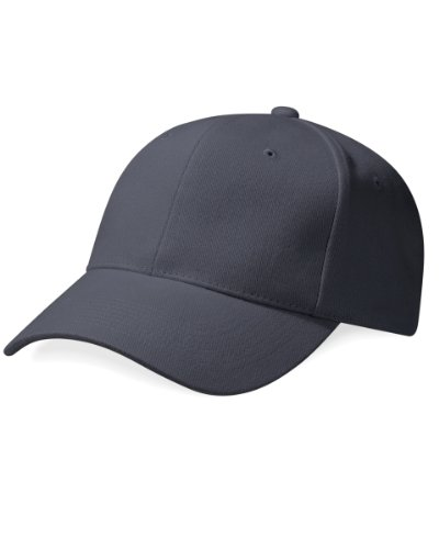 Beechfield Pro-Style Casquette de baseball unisexe Stone/French Navy Taille unique
