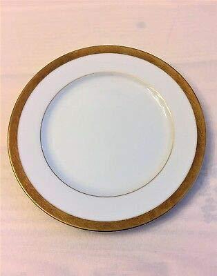 Sango Elegance Dinnerware No. 8499 RETIRED PATTERN Gold Trim 7.75 inch SALAD PLATE Replacement Pieces