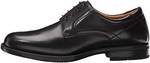 Florsheim Men's Medfield Plain Toe Oxford Dress Shoe, Black, 10 Medium