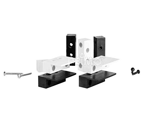 Thitronik Montageadapter weiß (2 Paar)