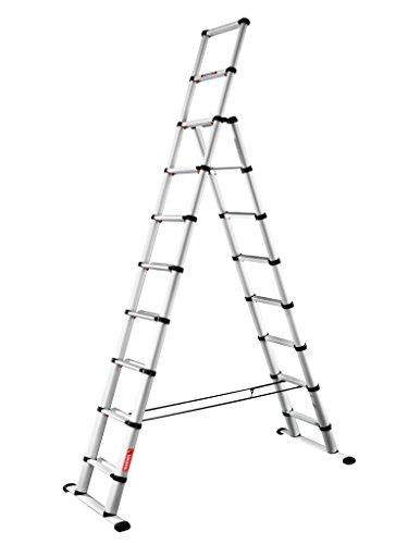 Telesteps 60630 501 Combi 3m Leiter, Silber