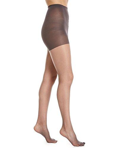 Donna Karan Hosiery Signature Ultra-Sheer Control Top Pantyhose, Medium, Off Black