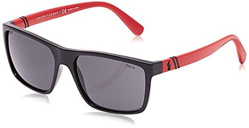 Polo Ralph Lauren heren 0Ph4133 500187 59 zonnebril, zwart (zwart/grijs)