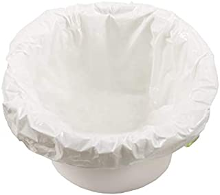 TidyCare Commode Liners for Beside Portable Toilet Chair Bucket | Value Pack of 48..