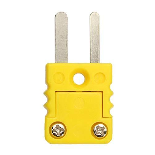 AniYY Plástico Shell Termopar miniatura Soc Adaptador Mini Termómetro Universal K-Type Panel Mount Conectores en miniatura