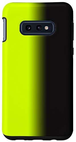 Galaxy S10e Emo Aesthetic Green Black Gradient Ombre Eboy Egirl Hair Case