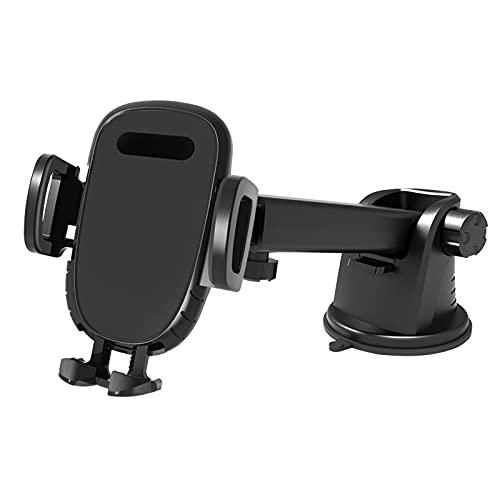 Montaje De Teléfono Universal Montaje De Teléfono Easy Pinza, Tablero De Instrumentos Titular De Teléfono Celular Anti-Shake Strong Suction Universal Cuna Compatible Para 4-7.2 Pulgadas Todos Los Telé