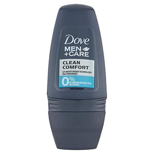 Dove Men Clean Comfort 0 Aluminium Deo Roll-On - 50 ml