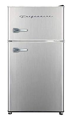 Frigidaire EFR391, 3.2 cu ft 2 Door Fridge and Freezer, Platinum Series, Stainless Steel