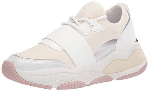 ALDO Women's Rev Fashion Lace-Up Sneakers, White, 8 US