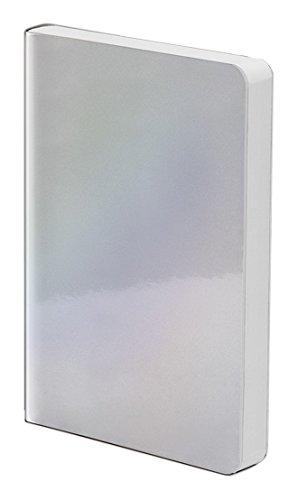 Nuuna Notizbuch Pearl S Grey