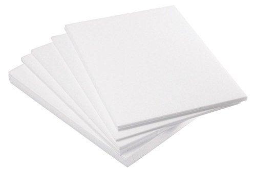 Major Brushes 25 x A4 Safeprint Lino Block Printing Tiles Polystyrene Sheets