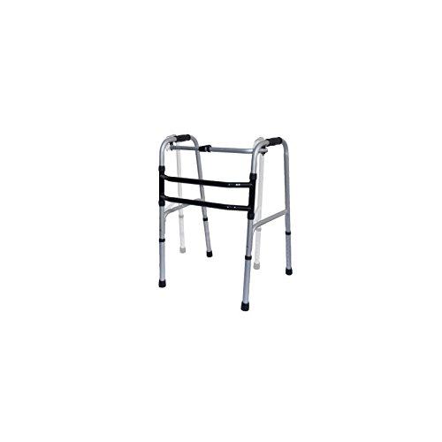 Gehgestell, reziprok mit beweglichem Rahmen, Gehgestell, Gehbock, Gehhilfe, Stehhilfe, faltbar, höhenverstellbar aus Aluminium, TOP Qualität