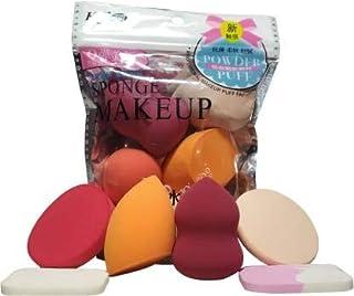 BTN Make Up Sponge Beauty Blender Puff (Multi Color)- Set of 6