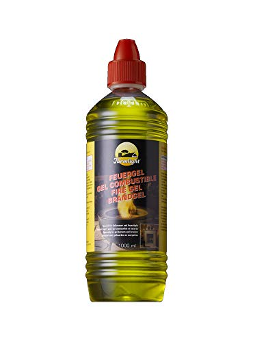 1 Liter Firegel - Fuel-Gel - Burning-Gel / BBT-10001300 / Accessory for Fire-Gel and Bio-Ethanol Fireplaces Chimneys