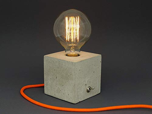 'cubo' Betonlampe. Tischlampe. Tischleuchte.