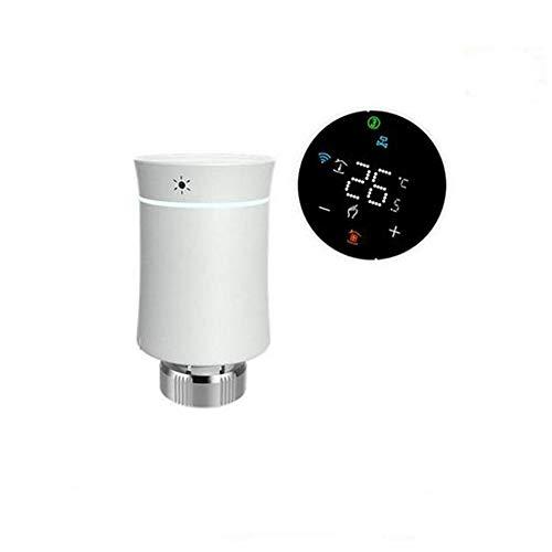 LOOCOO Tuya Zigbee 3 0 Controlador de Temperatura Táctil Controlador de Temperatura de Visualización Radiador de Temperatura Constante Radiador Constante Inteligente