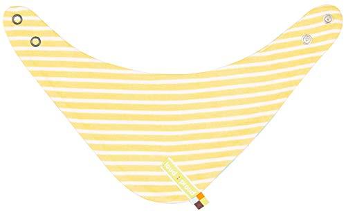 loud + proud Unisex Baby Wendehalstuch, aus Bio Baumwolle, GOTS zertiziziert, Gelb (Honey Hon), One Size