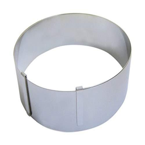 DE BUYER -3040.01 -cercle inox extensible de ø18 a 36 ht4.5
