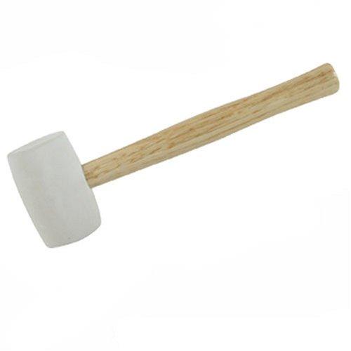 Silverline 633608 Maceta de goma blanca 454 g
