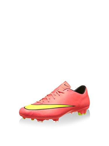 Nike Herren Mercurial Victory V FG Fußballschuhe, Pink (Hypr Punch/MTLC GLD CN-BLK-VLT 690), 42.5 EU