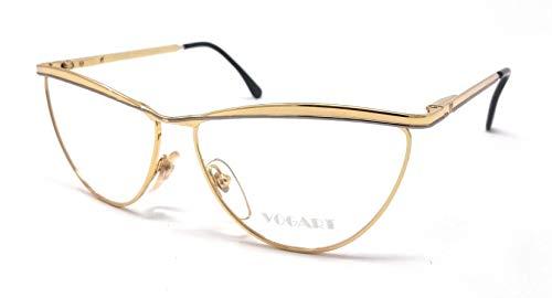 Vogart 3031 301 - Gafas de vista para mujer, oro y plata, diseño vintage