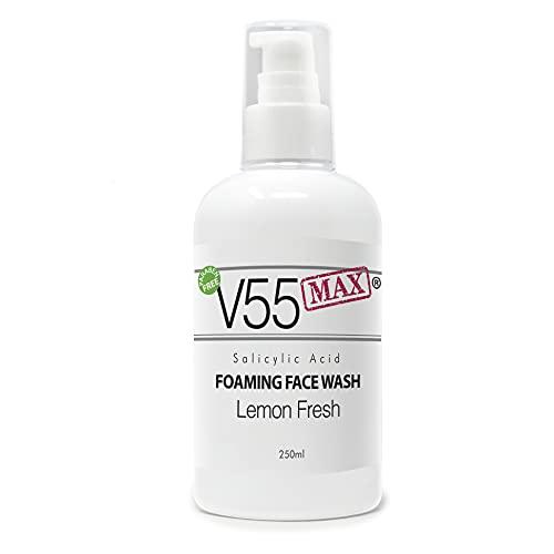 V55 MAX Salicylic Acid Face Wash Spot Treatment for Spots Blackheads...