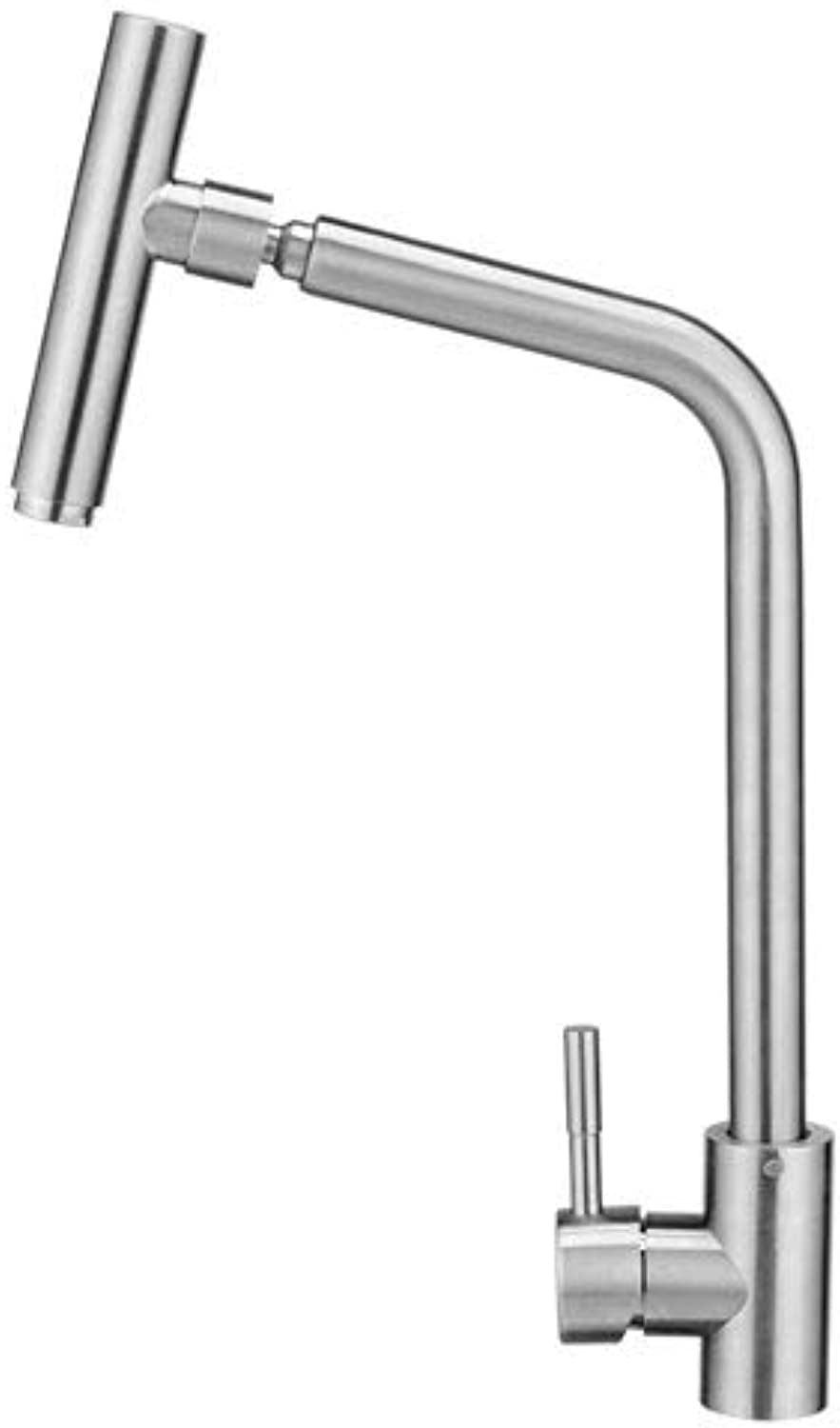 Kitchen Faucet, Full Copper Body 360° redating Kitchen Faucet Lead-Free with Wrench