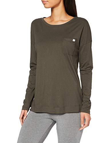 Marc O'Polo Body & Beach Mix W-Shirt LS Crew-Neck Camiseta de Pijama,...