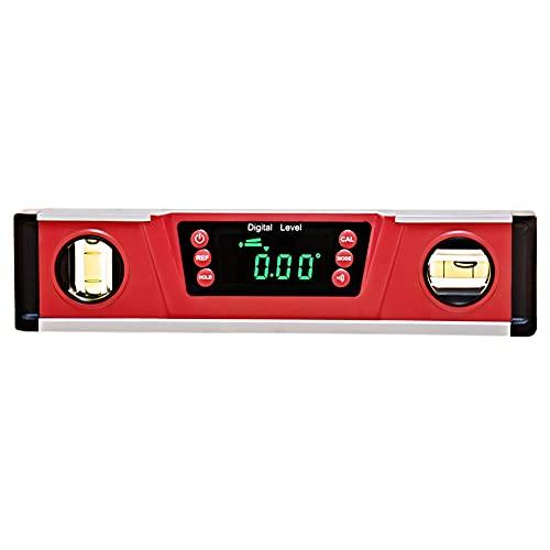 Caja Digital del Nivel del Inclinómetro del Prolongador Digital Dl135 Buscador Indicador del Ángulo De Visualización De Audio Magnética Transportador Led Base