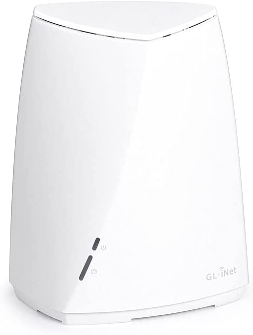 GL-B2200 (Velica) Tri-Band Wireless Mesh Router, 400Mbps (2.4G) + 2x867Mbps (5G), OpenWrt Pre-Installed, AdGuard Supported, DDR3L 512MB, 16MB Nor Flash, EMMC 8GB, Easy Setup with App (1-Pack)