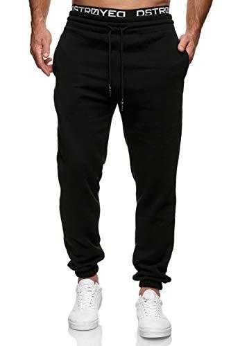 MERISH Jogginghose Herren Jogger Männer Baumwolle Jungen Slim Fit 283 (XL, 277a Schwarz)