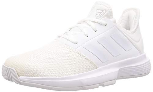 Adidas GameCourt W, Zapatos de Tenis Mujer, FTWR White/FTWR White/Dash Grey, 37...