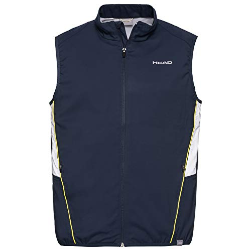 Head Club vest, voor heren, wit