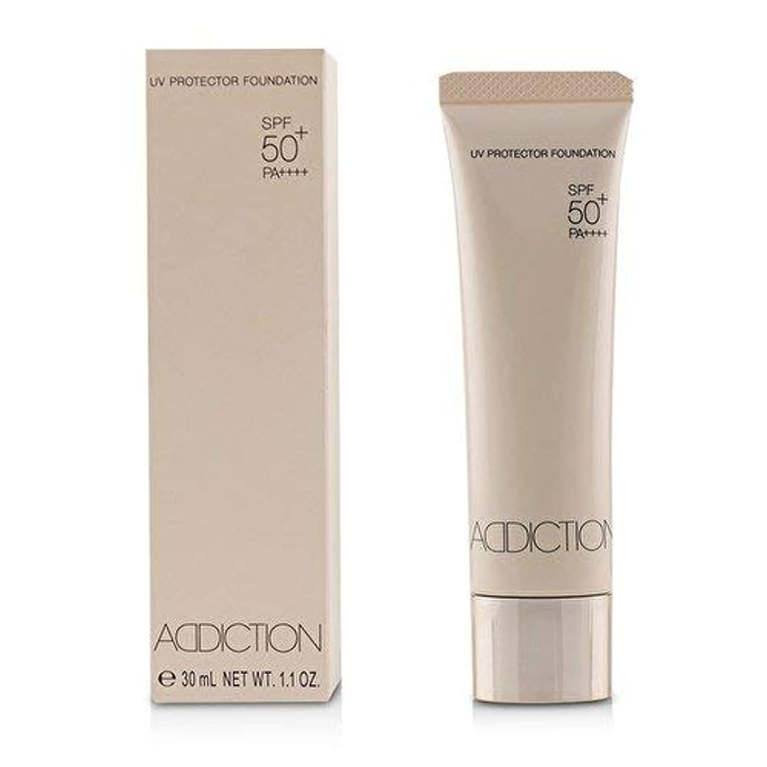 敬意を表して驚くばかりアクセシブルアディクション UVプロテクターファンデーション # 005 (Nude Ivory)